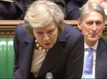 Theresa May crushes Corbyn in first PMQs