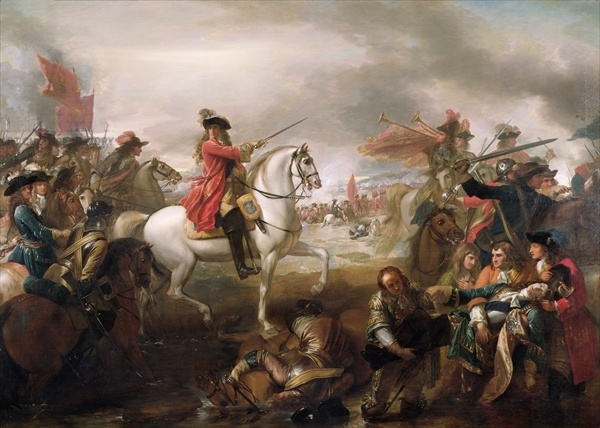 The Battle of the Boyne - recreated in Northern Ireland every election time